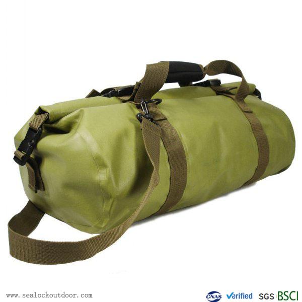 45liter Green Waterproof Duffel Bag