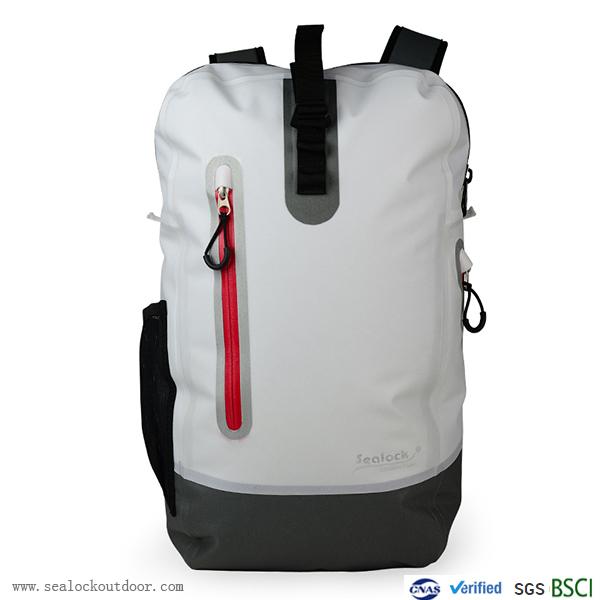 Waterproof Zipper Motorbike Backpack