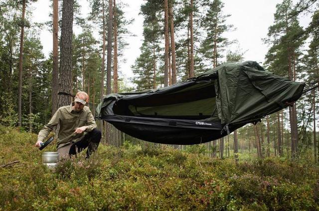 Outdoor camping function king, Croa hybrid Hammock hammock tent!